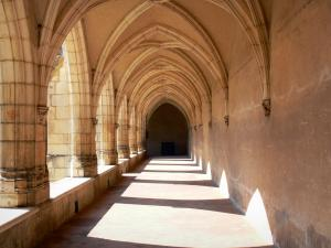 Brou Royal Monastery - Gallery of the great cloister
