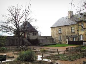 Caen - The Governors lodge home to the Normandy museum in the surrounding wallof the castle