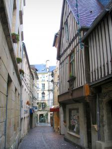 Caen - Houses of the Fromages street