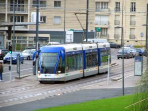 Caen - Streetcar of the city