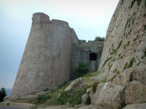 Calvi - Fortifications of the citadel