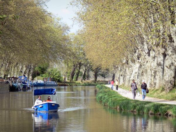 Le canal du Midi - Guide tourisme, vacances & week-end en Occitanie