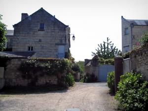 Candes-Saint-Martin - Houses of the village