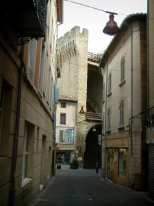 Carpentras - Houses and Orange gateway