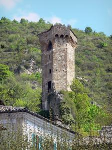 Castellane - Pentagonal tower