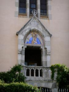 Castellane - Portal of the Saint-Victor church