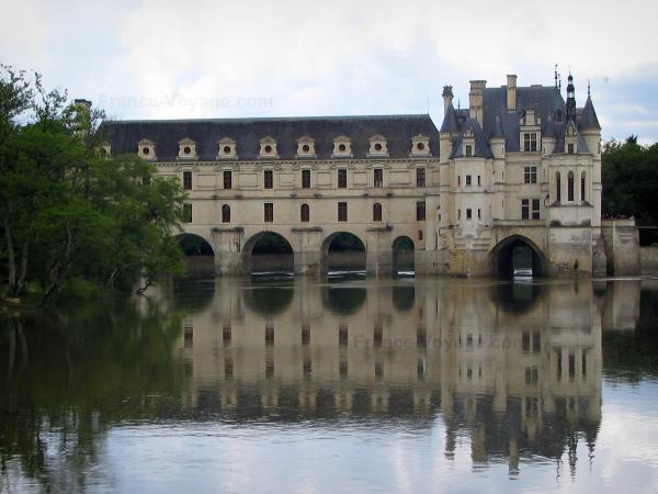 Castello di chenonceau 38 immagini di qualit in alta for Piani di progettazione di ponti gratuiti