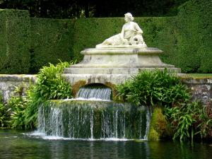 Castello di Courances - Castle Park: stagno di Bather