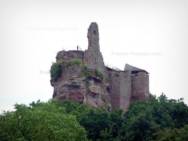 The castles of Northern Vosges - Tourism, holidays & weekends guide in the Bas-Rhin
