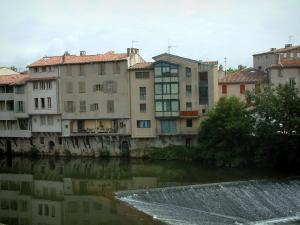 Castres - Houses by the River Agout