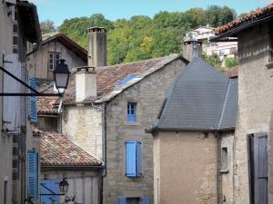 Caylus - Houses of the medieval town