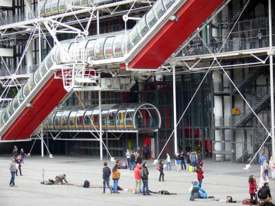 Centre Pompidou - Musée national d'art moderne