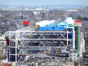 Museo Pompidou.Centre Pompidou Musee National D Art Moderne 19 Quality High