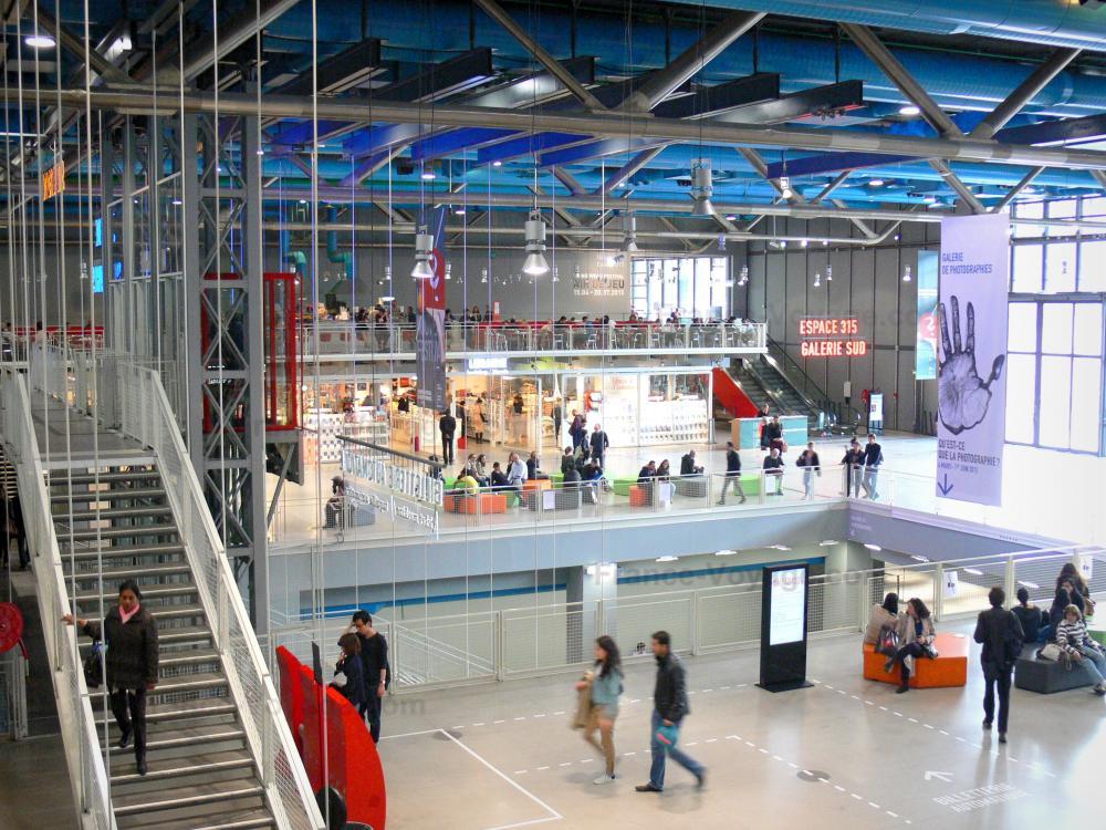 Photos centre pompidou mus e national d 39 art moderne for Inside interieur