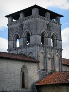 Chancelade abbey - Church bell tower