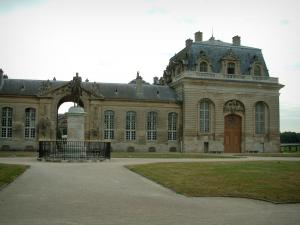 Chantilly - Walkways, gazon standbeeld en stallen
