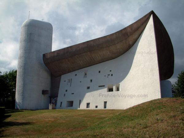 The Chapel of Notre-Dame du Haut - Tourism, holidays & weekends guide in the Haute-Saône