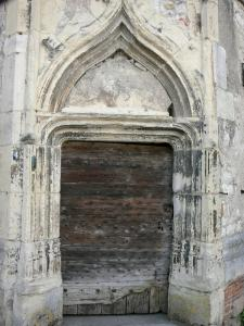 La Charité-sur-Loire - Door of the tower of the prior's lodge
