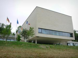 Charles de Gaulle Memorial - Building of the Memorial