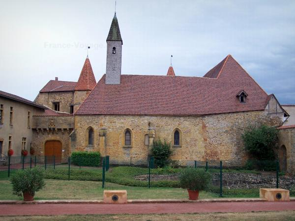 Charlieu - Charlieu abbey (Benedictine abbey): chapel of the prior