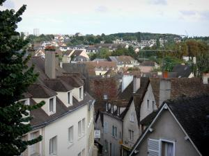 Chartres - Houses and buildings of the city