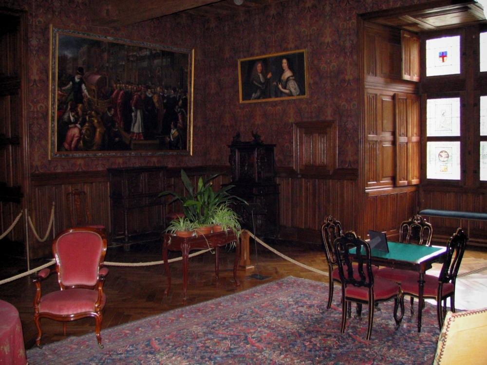 Photos le ch teau d 39 azay le rideau guide tourisme for Le for interieur
