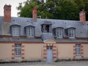 Château de Chamarande - Departmental Domain of Chamarande: facade of the outbuildings