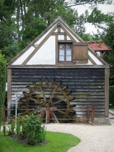Château de Chantilly - Park: mill of the Hamlet