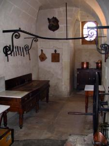 Château de Chenonceau - Kitchens of the castle: butcher's shop