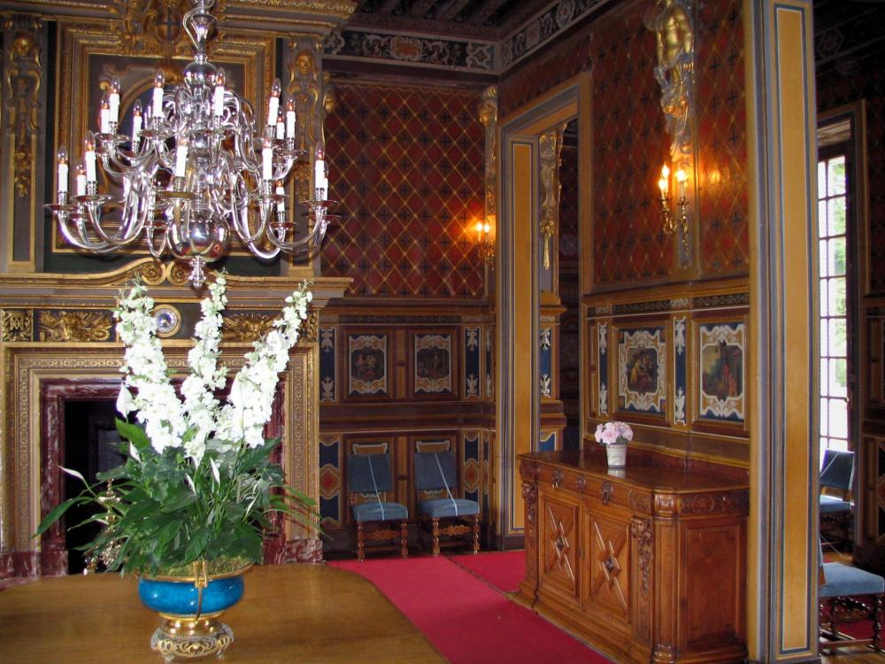 Photos le ch teau de cheverny guide tourisme vacances for Interieur chateau