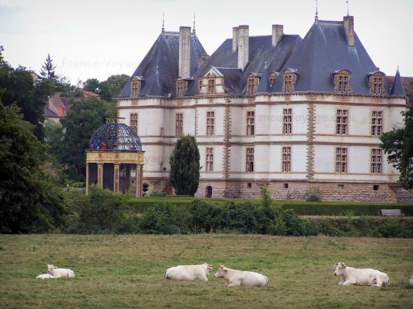 The Château de Cormatin - Tourism, holidays & weekends guide in the Saône-et-Loire