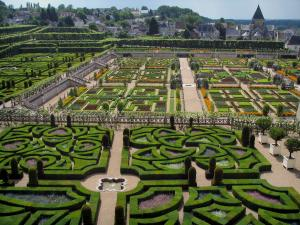 Ch teau et jardins de villandry 33 images de qualit en for Definition du jardin