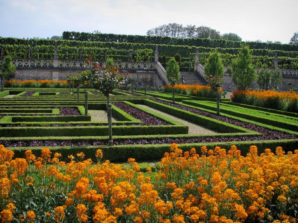 Photos ch teau et jardins de villandry 33 images de for Definition du jardin