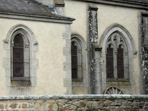 Château des Martinanches - Chapel of the castle; in Saint-Dier-d'Auvergne