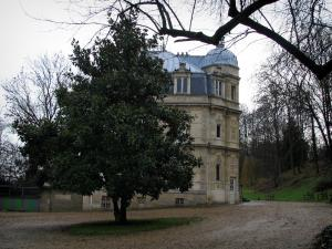 Château de Monte-Cristo - Alexandre Dumas's residence and trees, in Port-Marly