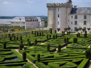 Château de Villandry and gardens - Keep of the castle and ornament garden