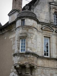 Châteaudun - Angle turret of a Renaissance-style house