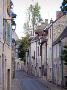 Châteauroux - Street lined with houses