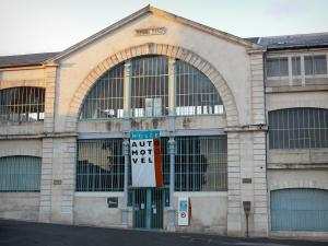 Châtellerault - La Manu (former weapon factory): entrance to the Automobile Motorcycle Cycle museum