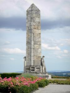 Chemin des Dames - Basque Monument; in the town of Craonnelle