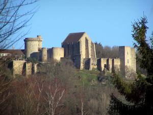 Chevreuse - Madeleine castle home to the Park House, in the Upper Chevreuse Valley Regional Nature Park