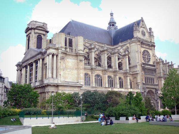 Church of St Eustace - Tourism, holidays & weekends guide in Paris