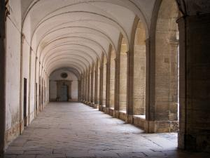 Cluny abbey - Benedictine abbey: gallery of the great cloister
