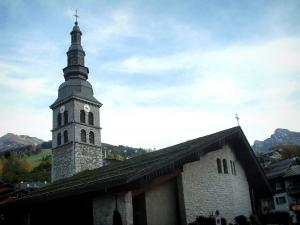 La Clusaz - Church of the village (resort)