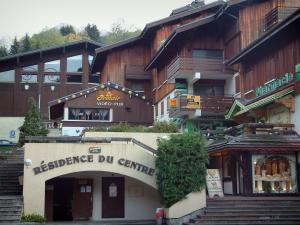 La Clusaz - Wooden residence - chalet of the village (winter and summer sports resort)
