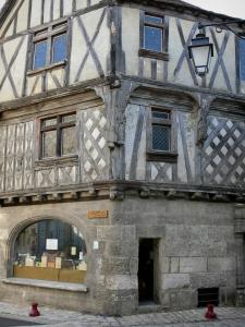 Cognac - Ancient timber-framed house of Vieux Cognac (old town)