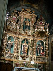 Collioure - In der Kirche Notre-Dame-des-Anges: Retabel der Kapelle Saint-Eloi