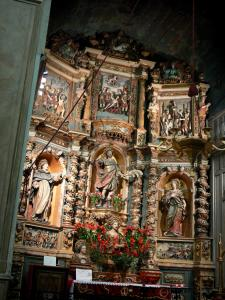 Collioure - In der Kirche Notre-Dame-des-Anges: Retabel der Kapelle Saint-Vincent