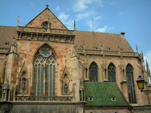 Colmar - Saint-Martin collegiate church (former cathedral)