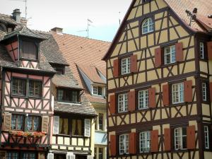 Colmar - Half-timbered houses and colourful facades